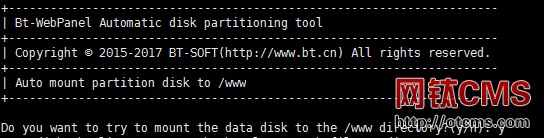 BT-Panel_Linux自动磁盘挂载工具